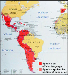 Languages In Spain Map.Spanish Language Spanish Speaking Cultures Learn Spanish Speak